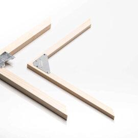 Aufhängung Holz